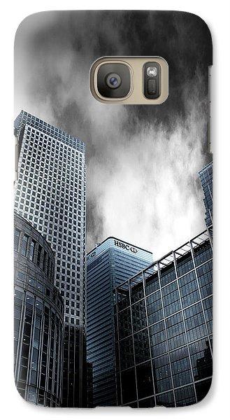 Canary Wharf Galaxy S7 Case by Martin Newman