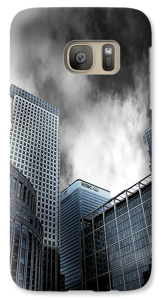 Canary Wharf Galaxy S7 Case by Martin Newman