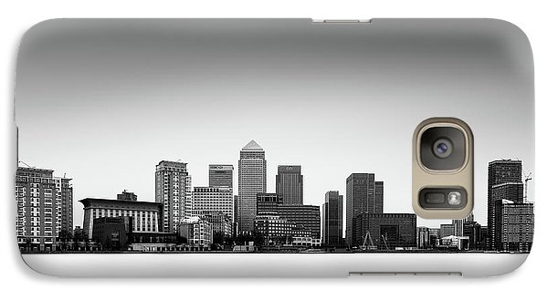 Canary Wharf Skyline Galaxy S7 Case by Ivo Kerssemakers