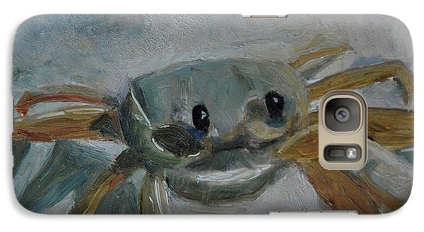 Galaxy Case featuring the painting Cancer's Are Not Crabby by Billie Colson