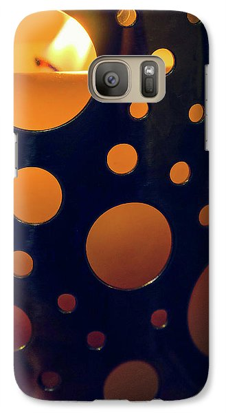 Galaxy Case featuring the photograph Candle Holder by Carlos Caetano