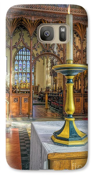 Galaxy Case featuring the photograph Candle Of  Prayer by Ian Mitchell