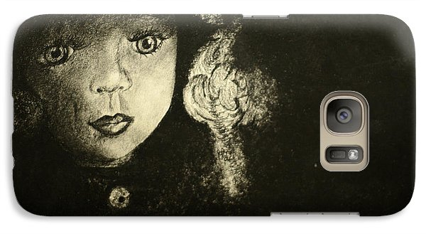 Galaxy Case featuring the painting Candlelight by Jane Autry