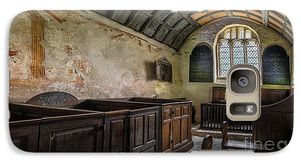 Galaxy Case featuring the photograph Candles In Old Church by Adrian Evans
