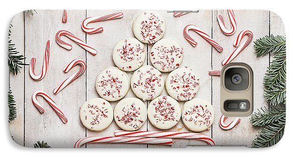 Galaxy Case featuring the photograph Candy Cane Lane by Kim Hojnacki