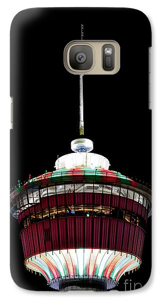 Galaxy Case featuring the photograph Candy Cane Tower by Brad Allen Fine Art