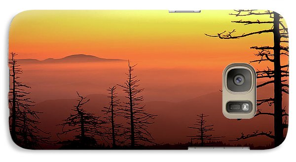 Galaxy Case featuring the photograph Candy Corn Sunrise by Douglas Stucky
