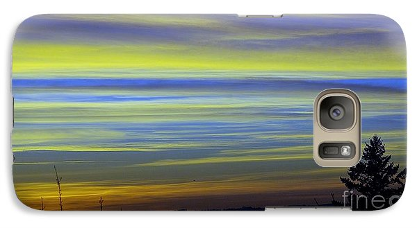 Galaxy Case featuring the photograph Candy Sky 1 by Victor K
