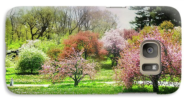 Galaxy Case featuring the photograph Garden Canvas  by Diana Angstadt