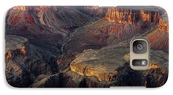 Galaxy Case featuring the photograph Canyon Enchantment by Carl Amoth