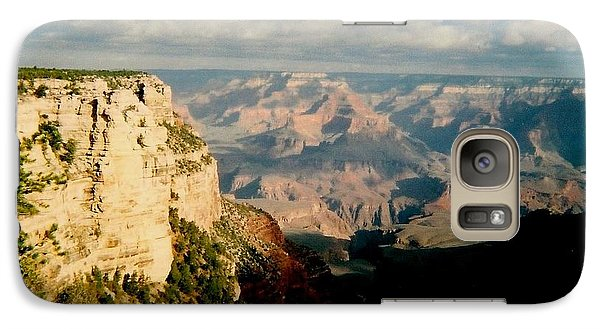 Galaxy Case featuring the photograph Canyon Shadows by Fred Wilson