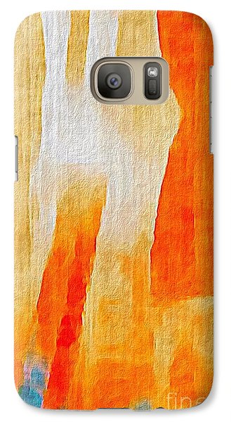 Galaxy Case featuring the photograph Canyon by William Wyckoff