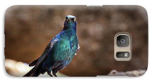 Cape Glossy Starling Galaxy S7 Case
