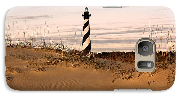 Galaxy Case featuring the photograph Cape Hatteras Lighthouse by Tony Cooper