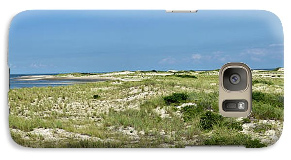 Galaxy Case featuring the photograph Cape Henlopen State Park - The Point - Delaware by Brendan Reals