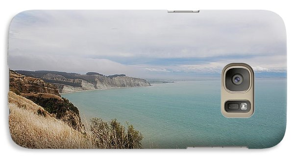 Galaxy Case featuring the photograph Cape Kidnappers Golf Course New Zealand by Jan Daniels
