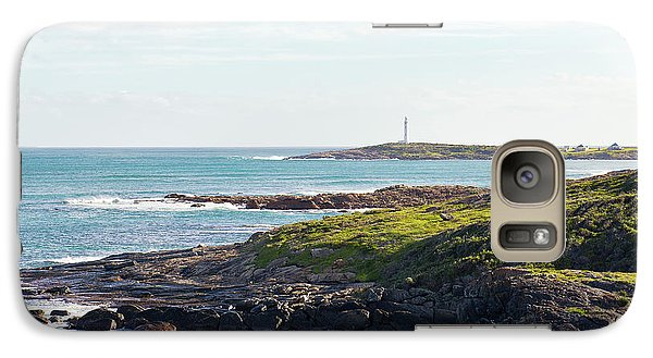 Galaxy Case featuring the photograph Cape Leeuwin Lighthouse by Ivy Ho