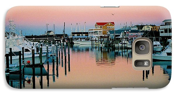Galaxy Case featuring the photograph Cape May After Glow by Steve Karol