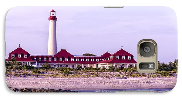 Galaxy Case featuring the photograph Cape May Light House by Linda Constant