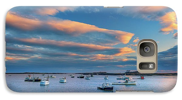 Galaxy Case featuring the photograph Cape Porpoise Harbor At Sunset by Rick Berk