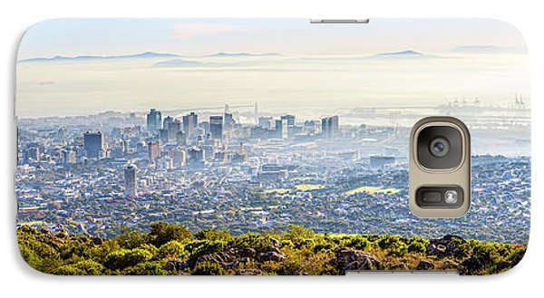 Galaxy Case featuring the photograph Cape Town by Alexey Stiop
