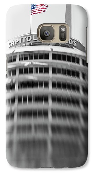 Galaxy Case featuring the photograph Capitol Records Building 18 by Micah May