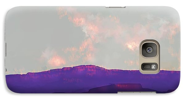 Galaxy Case featuring the digital art Capitol Reef by Kerry Beverly
