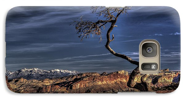 Galaxy Case featuring the photograph Capitol Reef Loner by Wendell Thompson