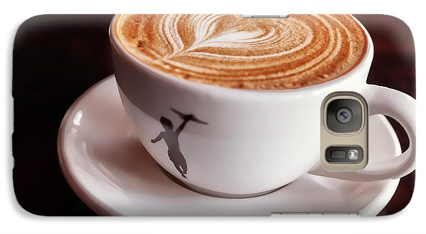 Galaxy Case featuring the photograph Cappuccino by Anthony Citro