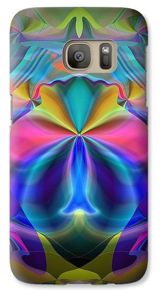 Galaxy Case featuring the digital art Caprice by Lynda Lehmann