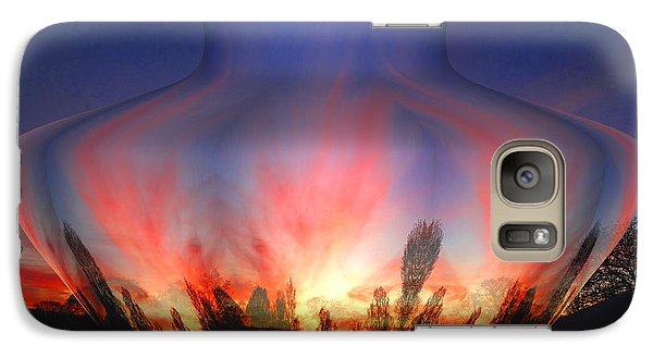 Galaxy Case featuring the photograph Capricorn Morning by Joyce Dickens