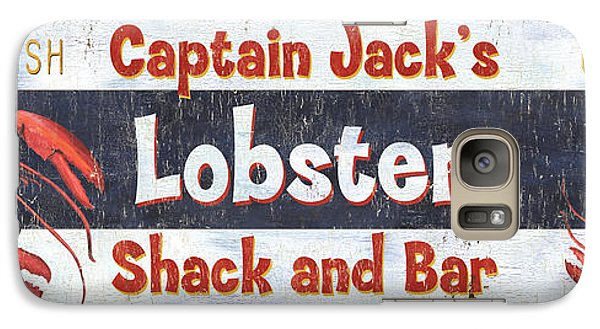 Captain Jack's Lobster Shack Galaxy S7 Case by Debbie DeWitt