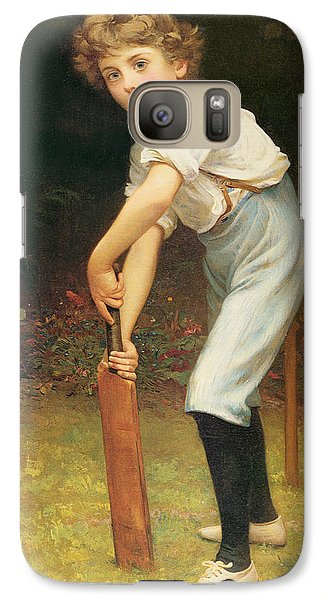 Captain Of The Eleven Galaxy S7 Case by Philip Hermogenes Calderon
