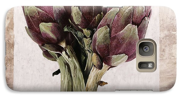 Artichoke Galaxy S7 Case - Carciofoni by Guido Borelli