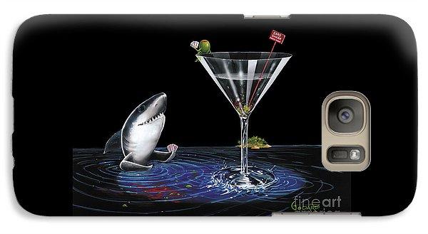 Martini Galaxy S7 Case - Card Shark by Michael Godard