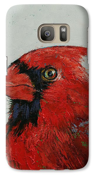 Cardinal Galaxy Case by Michael Creese