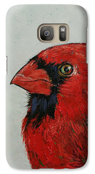 Cardinal Galaxy S7 Case by Michael Creese