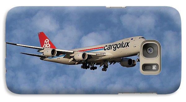Jet Galaxy S7 Case - Cargolux Boeing 747-8r7 1 by Smart Aviation