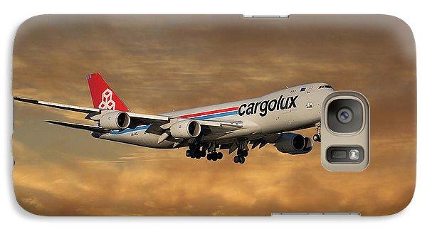 Jet Galaxy S7 Case - Cargolux Boeing 747-8r7 2 by Smart Aviation