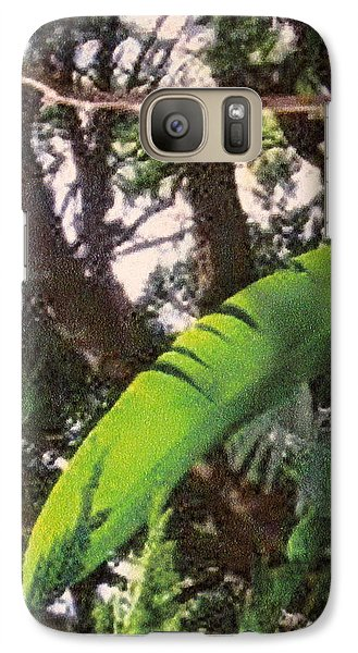 Galaxy Case featuring the photograph Caribbean Banana Leaf by Ian  MacDonald