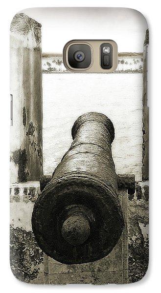 Caribbean Cannon Galaxy S7 Case