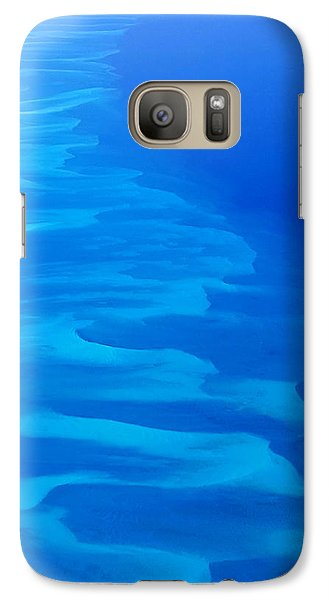 Galaxy Case featuring the photograph Caribbean Ocean Mosaic  by Jetson Nguyen