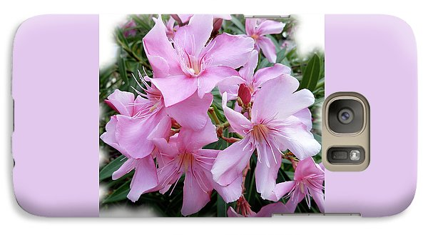 Galaxy Case featuring the photograph Caribbean Oleander by Marie Hicks
