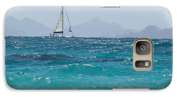 Galaxy Case featuring the photograph Caribbean Sailing by Margaret Bobb