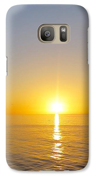 Caribbean Sunset Galaxy S7 Case by Teresa Wing