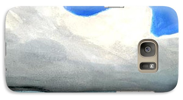 Galaxy Case featuring the painting Caribbean Trade Winds by Dick Sauer