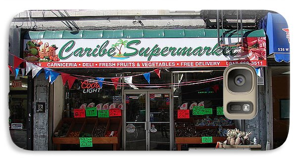 Galaxy Case featuring the photograph Caribe Supermarket by Cole Thompson