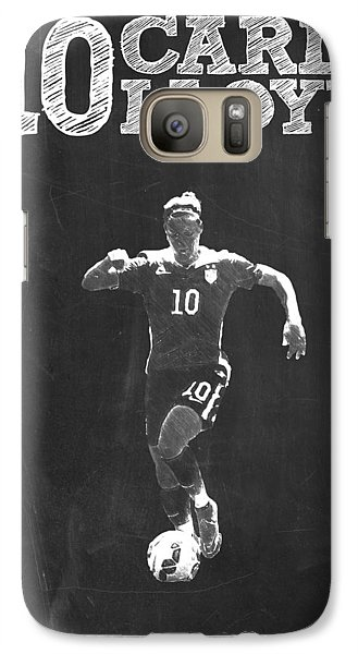 Carli Lloyd Galaxy S7 Case by Semih Yurdabak
