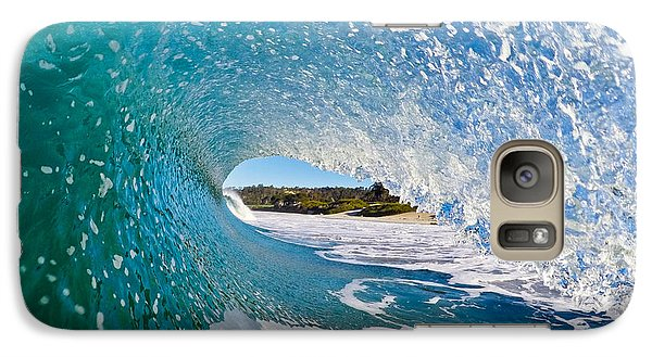 Galaxy Case featuring the photograph Carmel Blues by Paul Topp