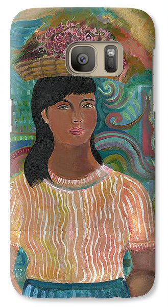 Galaxy Case featuring the painting Carmelita by John Keaton